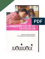 PARADOJAS Y DESAFIOS DE LA EDUCACION