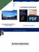 Apuntes, El Conductismo (Parte 1)