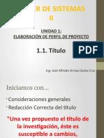 TSI2 - Presentación