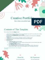 Creative Portfolio by Slidesgo