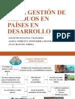 MALA GESTIÓN DE RESIDUOS EN PAÍSES EN DESARROLLO