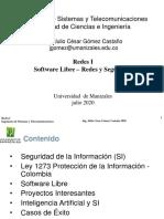 PresentacionSoftwareLibre-RedesySeguridad2020