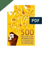 Perez Juan Ignacio Y Martinez Ana Maria - 500 Adivinanzas Populares Andaluzas