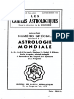 Cahiers Astrologiques 25