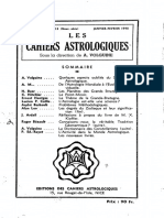 Cahiers Astrologiques 13