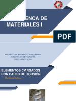 RESISTENCA DE MATERIALES I ELEMENTOS CARGADOS CON PARES DE TORSIÓN.pdf