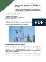 Presupuesto de Lineas de Transmisión 60 KV 08-06-2020