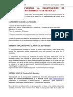 Presupuesto de Tanques de Petroleo 06-06-2020
