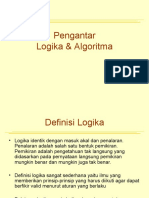 Pertemuan4 - Pengantar logika & algoritma