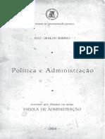 Ciencia Social e Administracao  (Joao Ubaldo Ribeiro, P.G. 167-172)