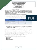ACTIVIDAD DE APRENDIZAJE 3 - Adecuación de materias primas