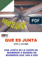 DISENO DE JUNTAS Y TECNICAS DE APLICACION.ppt