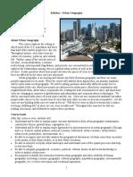 Longan-Urban-Geography-Syllabus-2017