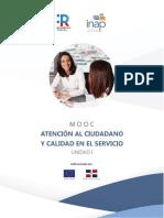 Unidad I - Conceptos Básicos de Calidad en el Servicio Público
