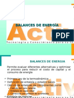 BALANCES DE ENERGIA1