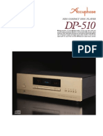Accuphase Fiche  DP510