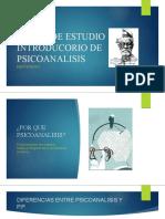 CLASE1-INTRODUCTORIO DE PSICOANALISIS