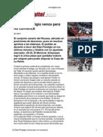 Cronica de Vivir Digital Partido Elda Rocasa 22 01 2011