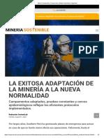 Minería Sostenible _ Compromiso _ Medio Ambiente _ Seguridad