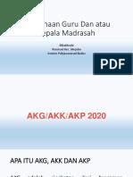 1. Materi AKG,AKK,dan AKP 2020