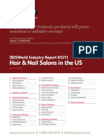 IBISWorld Industry Report Hair & Nail Salons in the US 2019