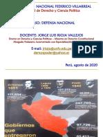 clase 1 Defensa Nacional  unfv 2020
