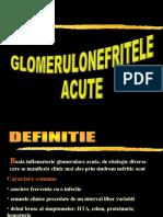 GNA DA (Glomerulonefritele Acute)