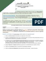 ACTIVIDAD BIOTECNOLOGÍA INDUSTRIAL 11. 17 - 21 AGO 2020