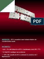 Hipertensiunea Reno Vasculara