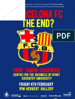 Coventry Conversations - Barcelona FC. The End?