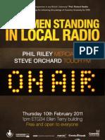 Coventry Conversations - Last Men standing in local radio