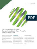 Ley-desarrollo-competitividad-micro-Pymes