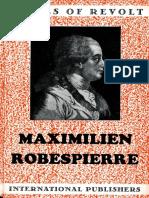 Maximilien Robespierre (Voices of Revolt #1)