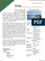 San Juanico Bridge - Wikipedia