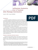 Una Nuova Classificazione Anatomica Dell'Aorta Toracica in Funzione Della Patologia Anerismatica