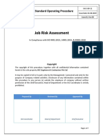 10 - Procedure For Job Risk Assessment (JRA)