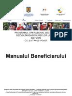 Manualul beneficiarului