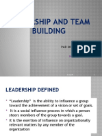 Leadership and Team Building in Organization PAD 201(6) Summer 2019.pptx