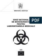 Ghid national de biosiguranta