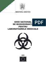 Ghid national de biosiguranta