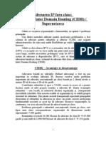 14-Adresarea IP fara clase-CIDR-Supernetarea