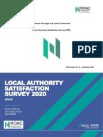 NOAC Satisfaction Survey 2020