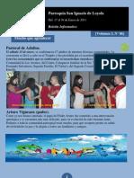 Boletín N° 86, del 17 al 23 de Enero de 2011