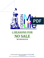 5 Reasons for No Sale