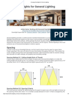 Arranging Downlights for General Lighting.pdf