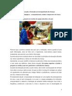 ficha de trabalho - ufcd 3261 – Atividades pedagógicas – acompanhamento, estudos e tempos livres da criança