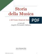 Storia della Musica 3B 4B 5B