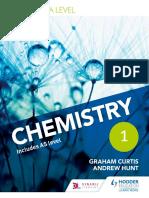 A Level Chemistry Edexcel Sample Chapter