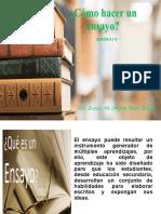 EL ENSAYO .SESIÓN 8 Y 9 DRA EVELIN UTEA.ppt