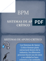 Sistemas de Apoyo Crítico